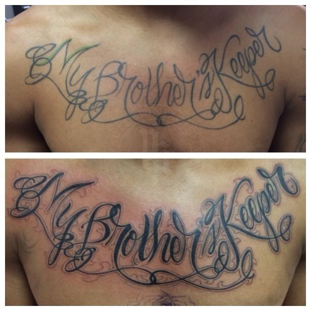 Latest My Brothers Keeper Tattoos Find My Brothers Keeper Tattoos