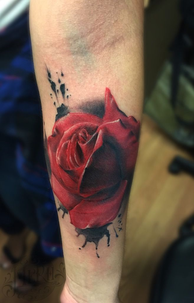 Mero Rose Tattoo Rose Pilsen Mero Native Soul Tattoo