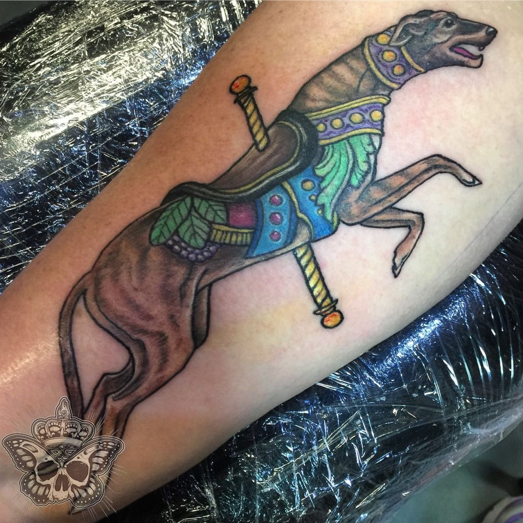 latest greyhound tattoos