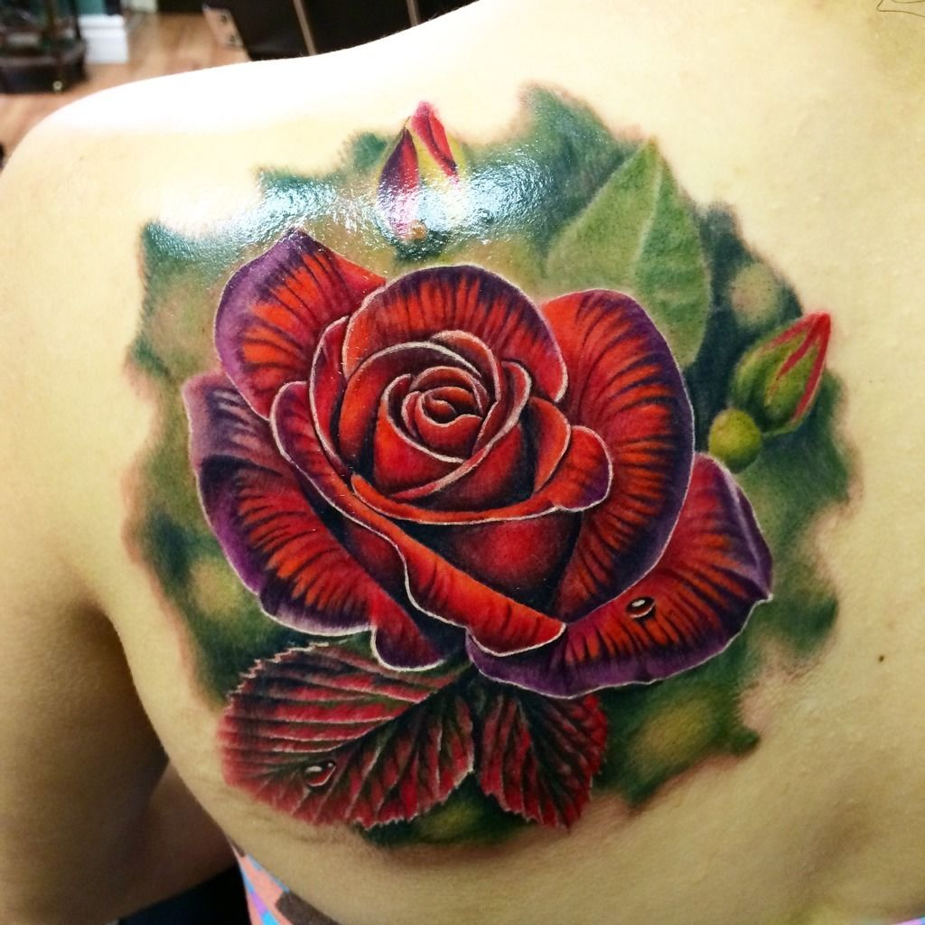 Lizvenombeautiful Classic Red Rose By Liz Venom From Bombshell
