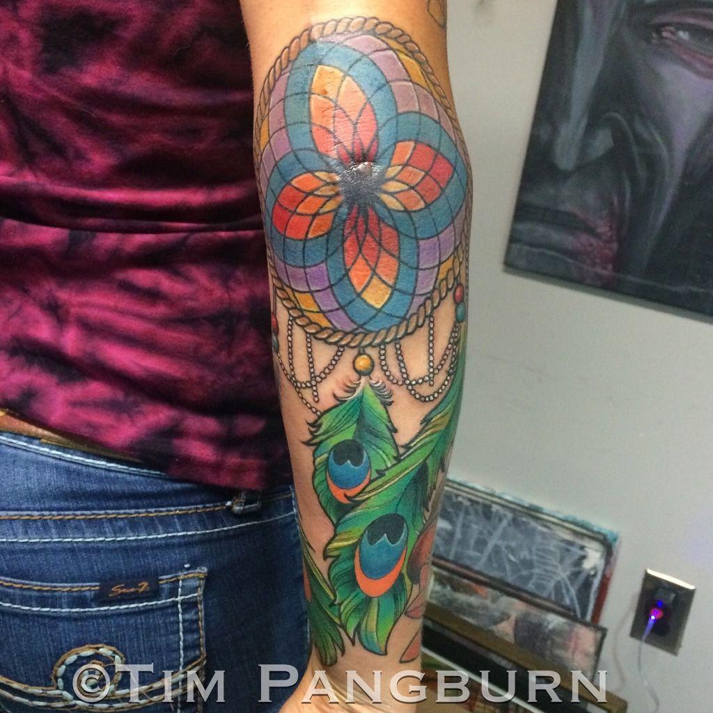 Timpangburndreamcatcher tattoo tattoos color color tattoo elbow phone upload png izmirmasajfo