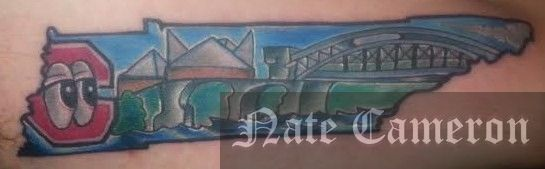 natecameron chattanooga tn themed tattoo tn tennessee