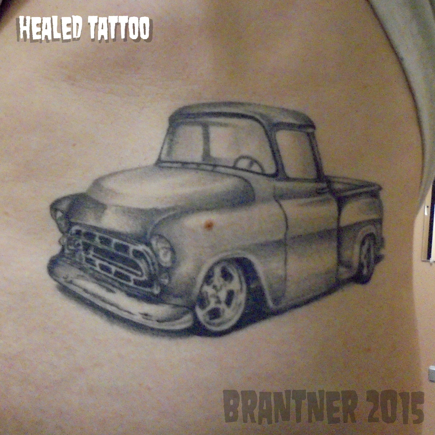 chevy truck tattoo designs the image kid has it. Black Bedroom Furniture Sets. Home Design Ideas