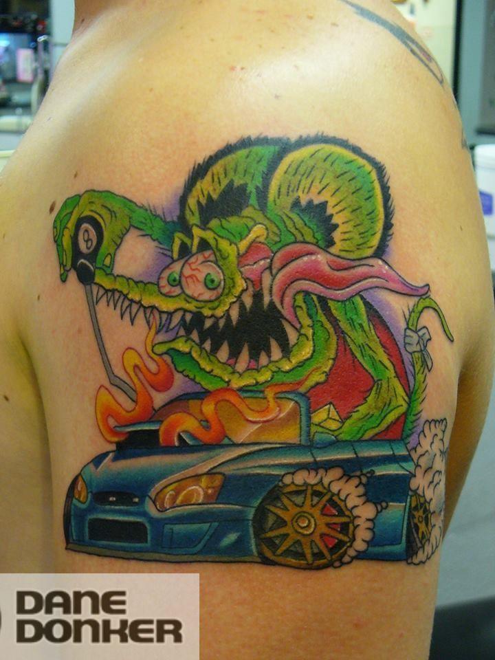 Latest Rat Rod Tattoos Find Rat Rod Tattoos