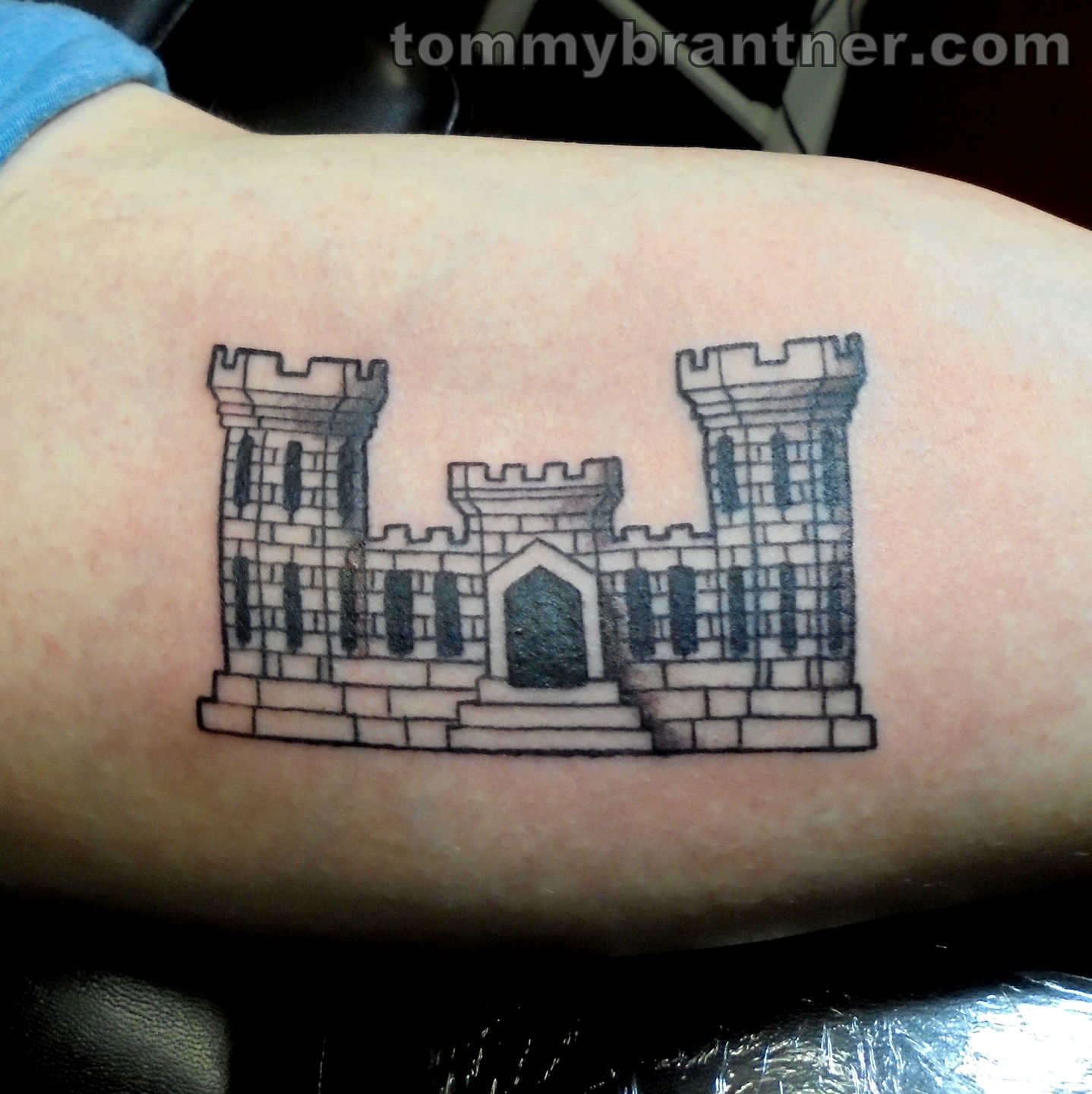 Tommybrantner army engineer castle army engineer castle for Combat engineer tattoo
