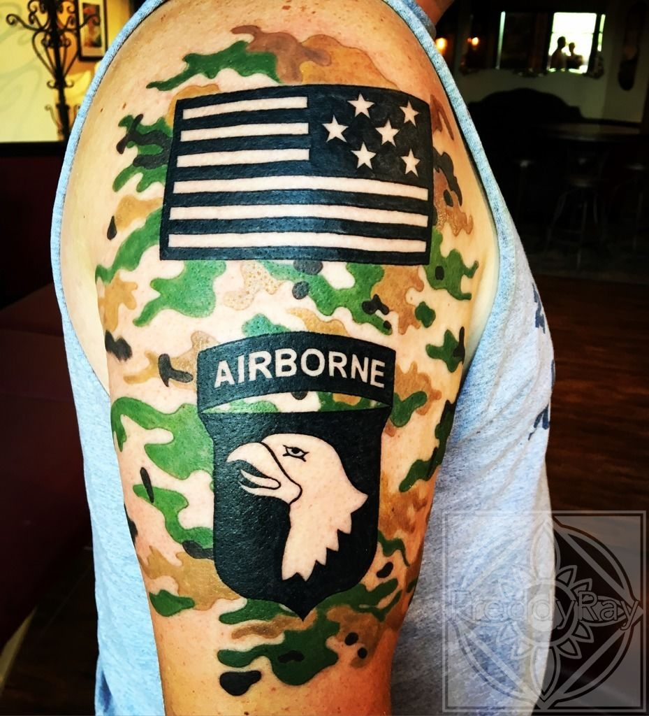 Airborne tattoos pictures images for tatouage for 101st airborne tattoos