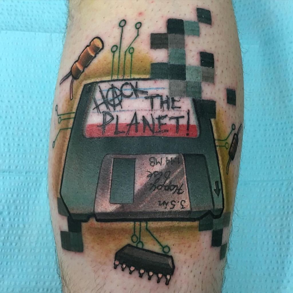 Hacker tattoo