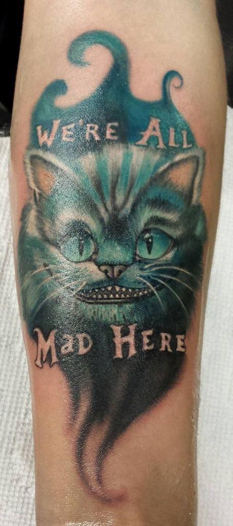 Cledleytattooscheshire Cat Alice In Wonderland Cheshire Cheshire