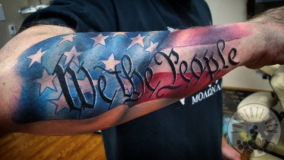 We The People Patriotic Tattoos Pictures to Pin on ...