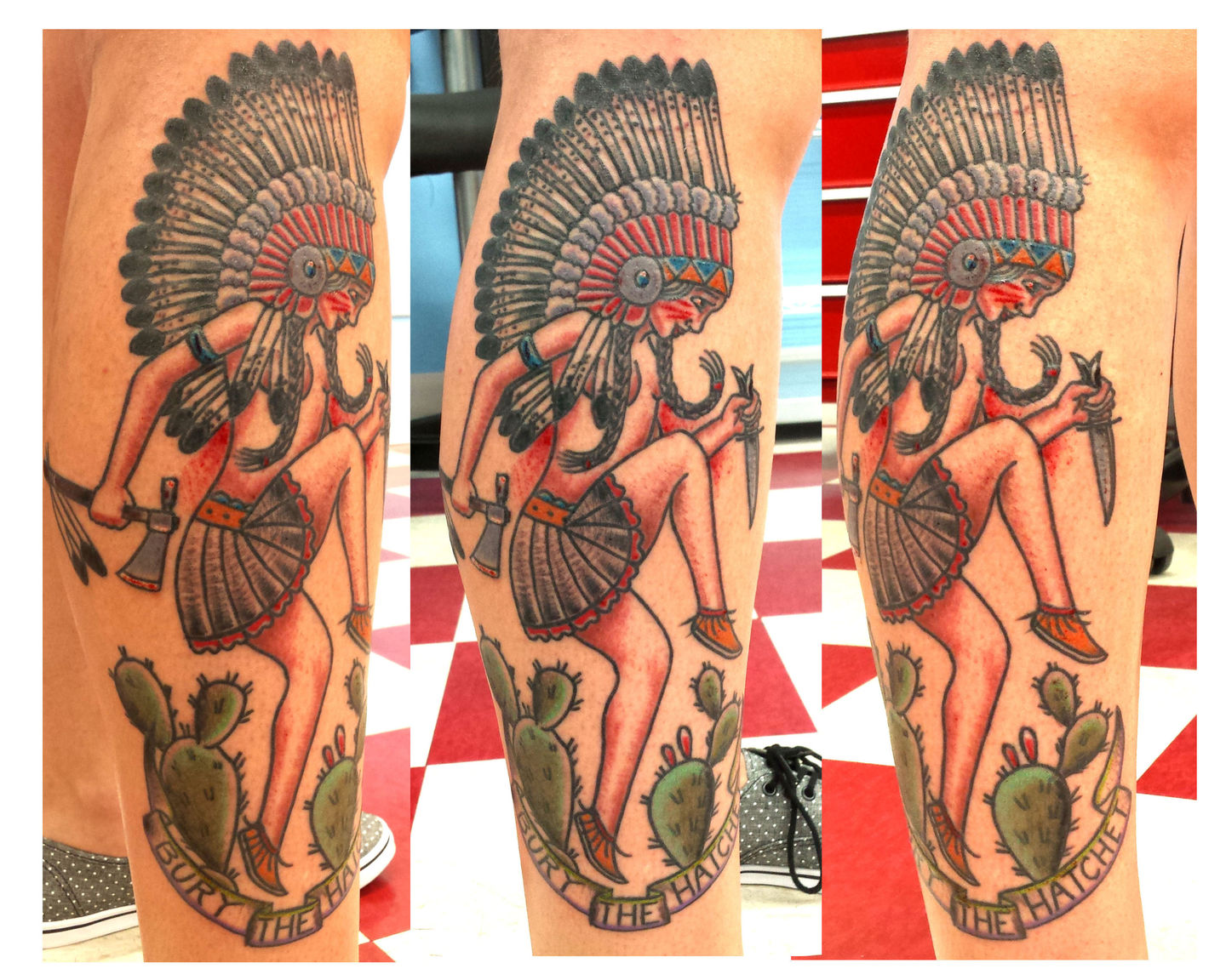 Unclejoshtraditional Tattoos Traditional Tattoo Color Tattoo Native