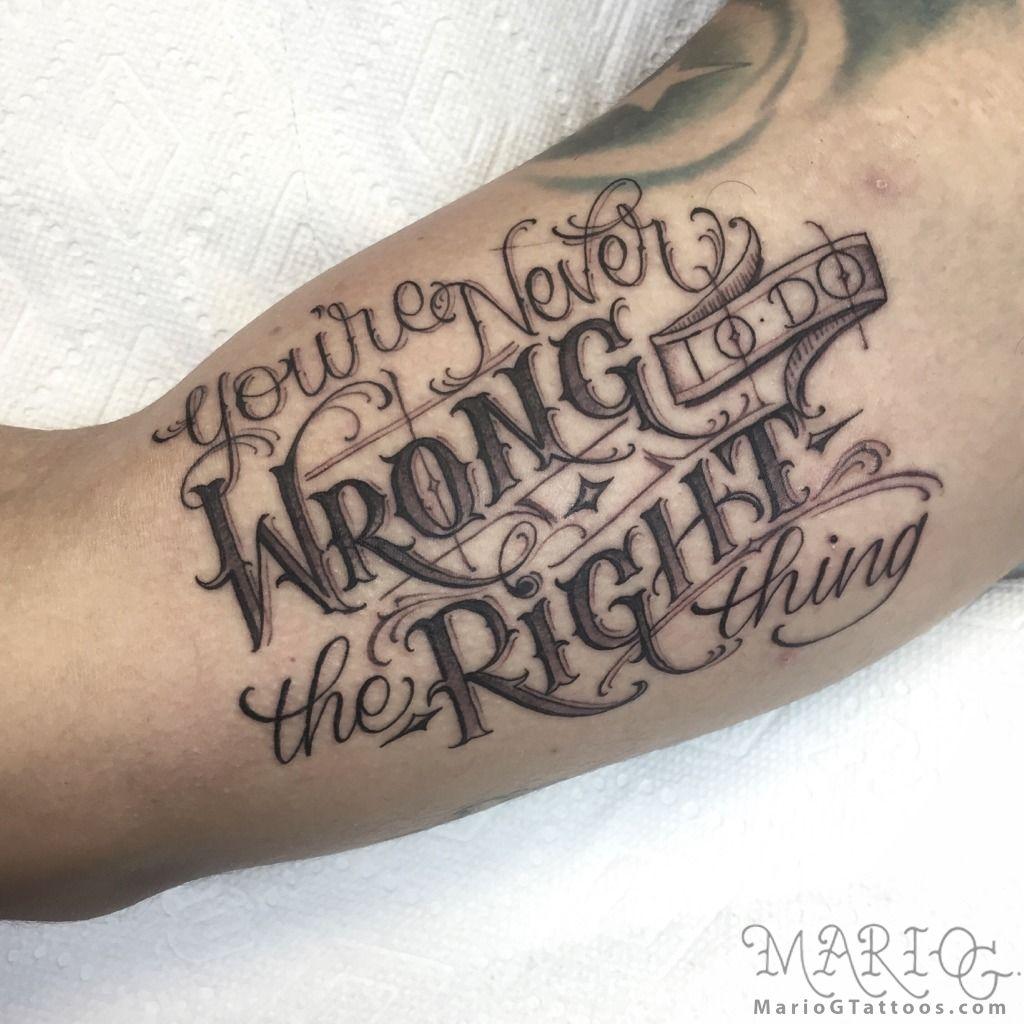 Quote Modznrockers Blackpool Quote Script Tree: Latest Script Tattoos