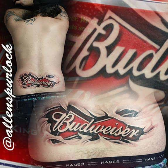 Latest Budweiser Tattoos Find Budweiser Tattoos