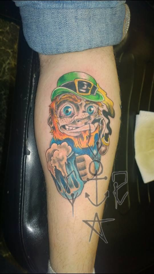 Leprechaun_tattoo