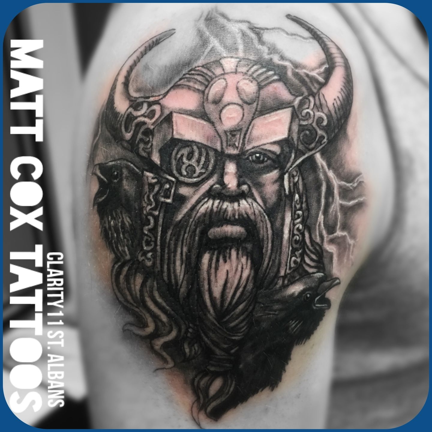 Odin Tattoos: Mcox972:odin-viking-warrior-realistic-odin-warrior-viking