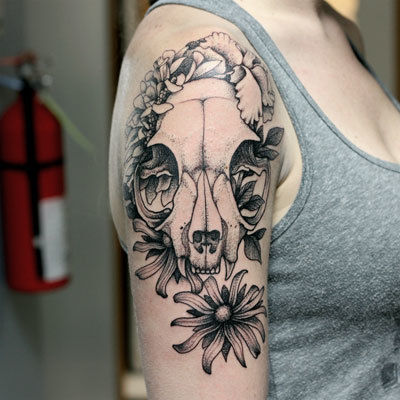 Badger-skull-tattoo-peter-anderson-the-bell-rose-tattoo-and-piercing-mobile-alabama