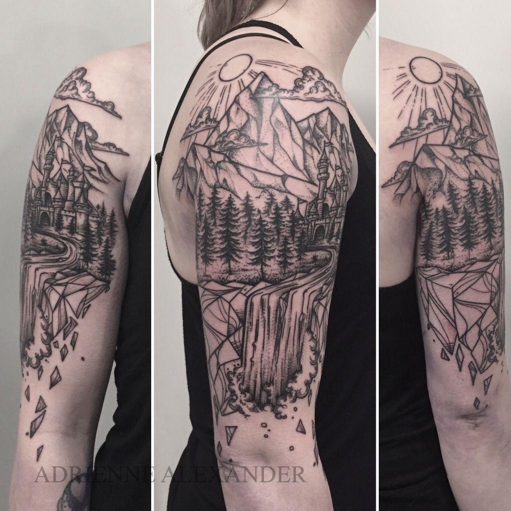 Latest Waterfall Tattoos | Find Waterfall Tattoos