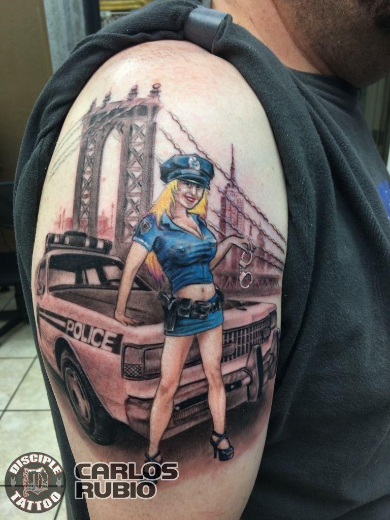 Latest Nypd Tattoos Find Nypd Tattoos