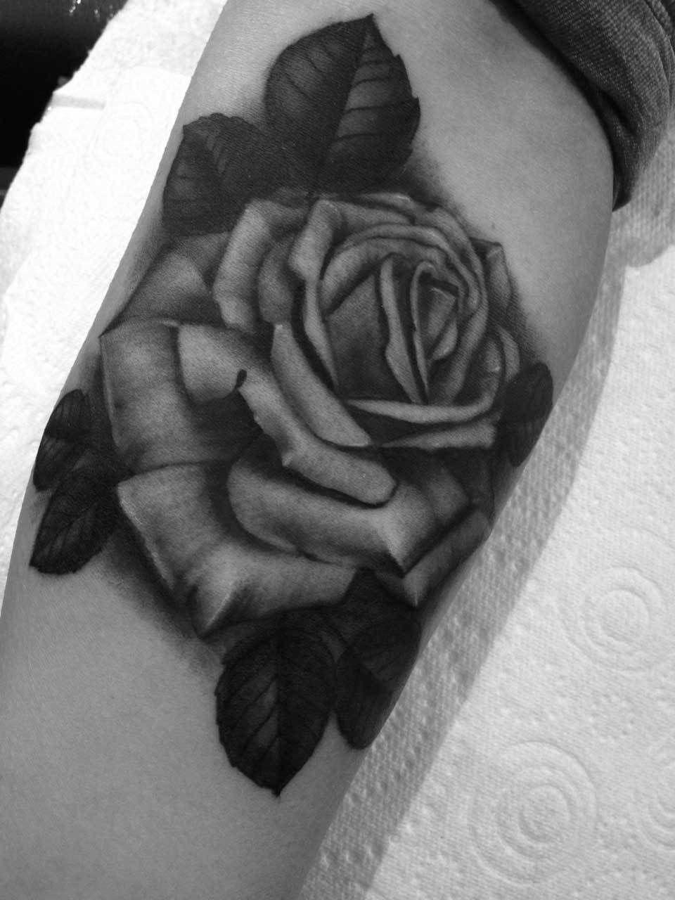 Rose-leaves-tattoo-forearm-rosemary-mckevitt-tattoo-ireland
