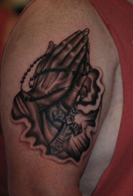 Praying-hands-cross2-rosemary-mckevitt-tattoo-ireland