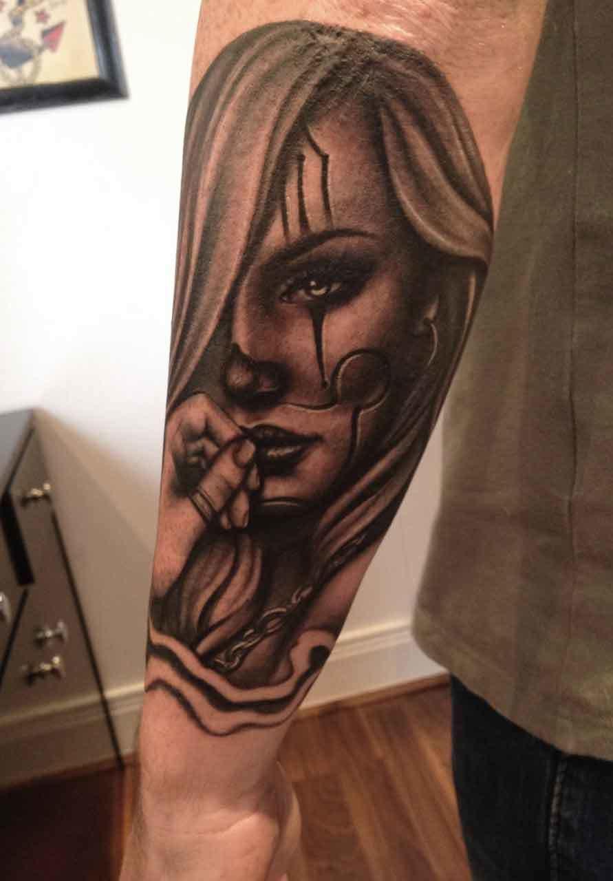 Chicano-chola2-rosemary-mckevitt-tattoo-ireland
