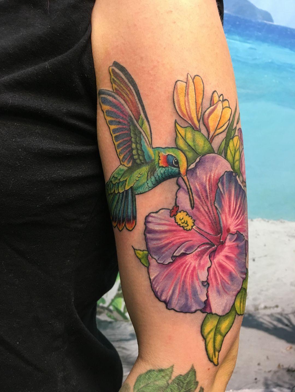 Ryantownsendbird Hummingbird Tattoo Dallas Tattoo Tattoo