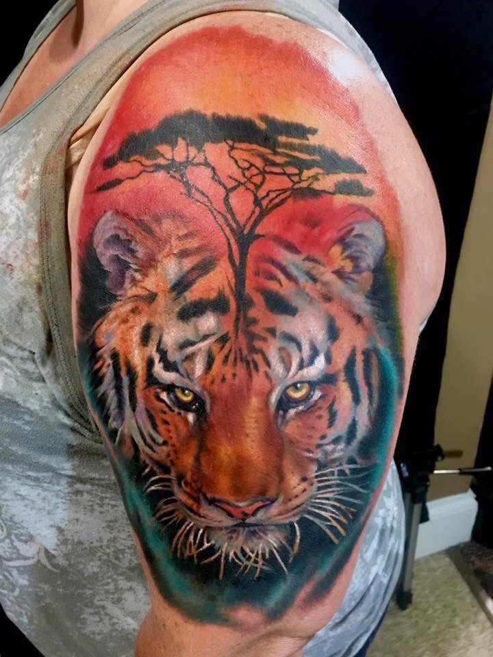 399fd669e6313 mattymctatty:tiger-tattoo-tiger-tattoo-realism-color-tattoo