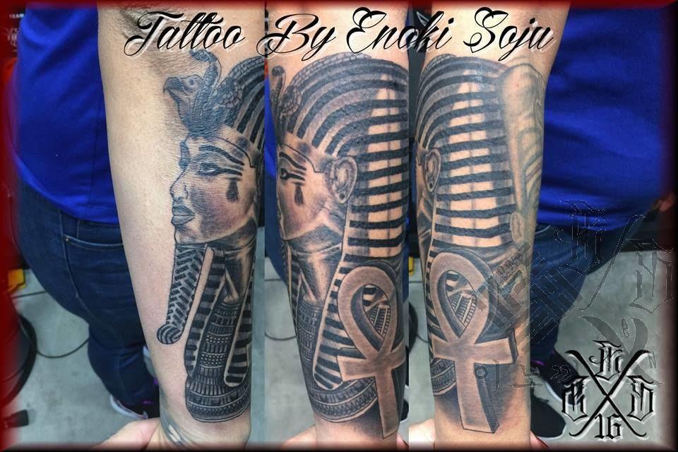 Enokisojuegyptian King Tut Tattoo King Tut Egyptian