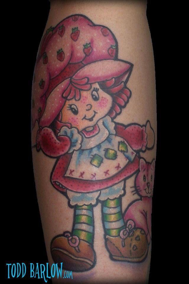 f48bb71f6 toddbarlow:strawberry-shortcake-tattoo-strawberry-shortcake-new-school