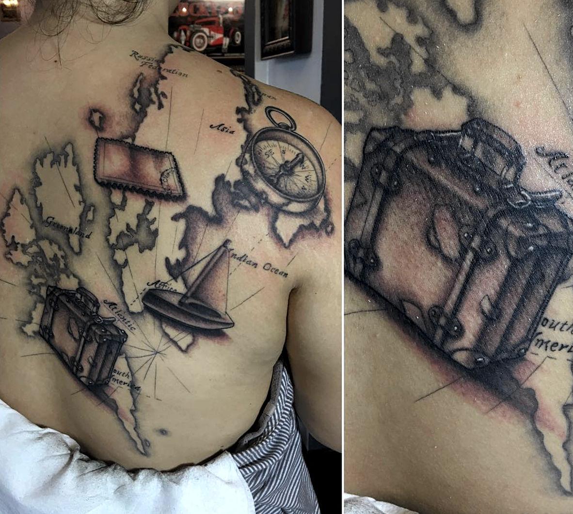 Florida Map Tattoos.Florida Map Tattoos Www Topsimages Com
