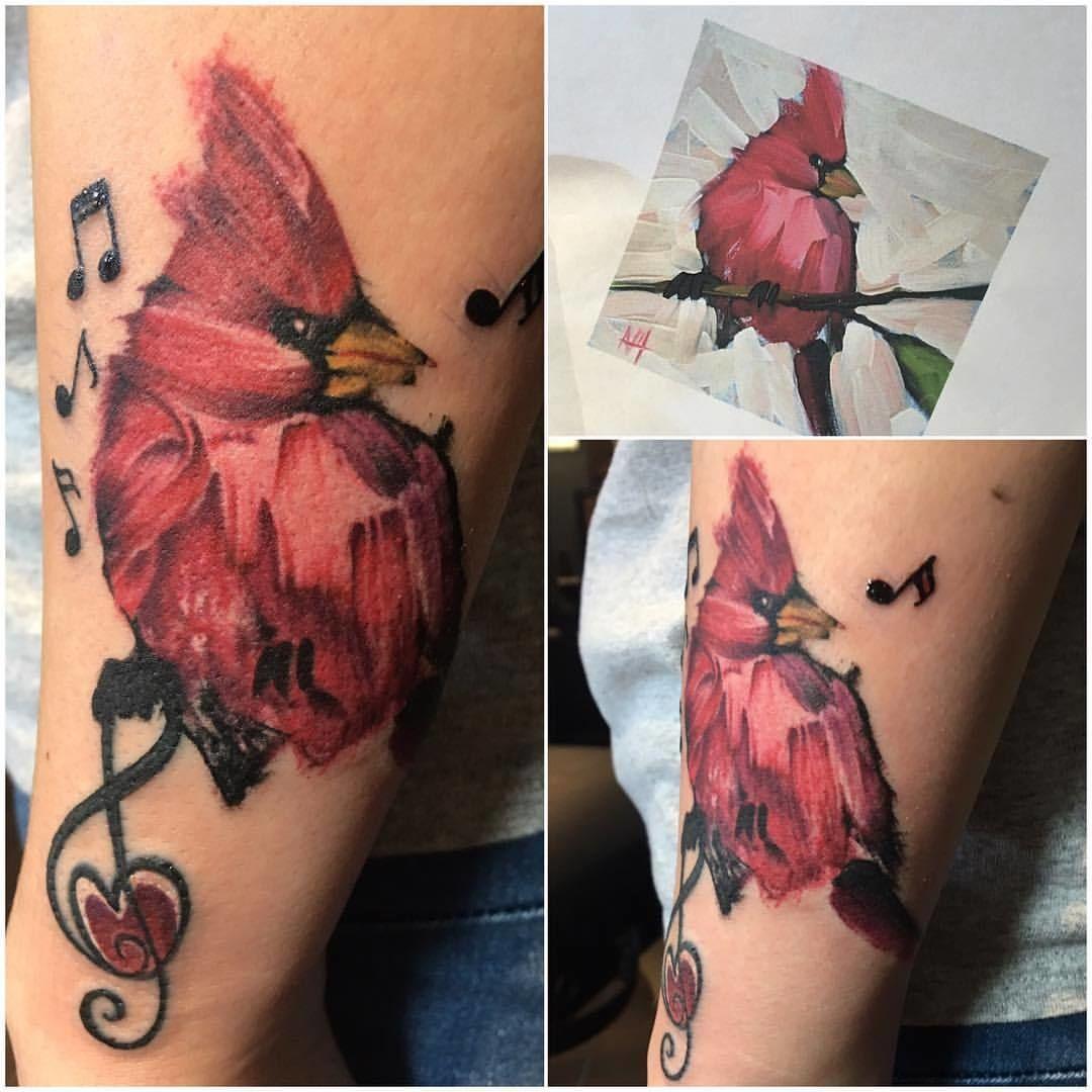 jakitatu:paint-stroke-cardinal-paint-paint-tattoo-watercolor ...