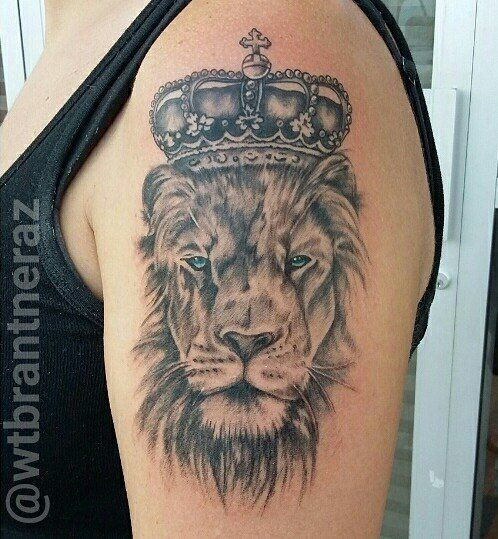 Tommybrantner King Lion Lion King Lion King Blue Eyes Tattoo