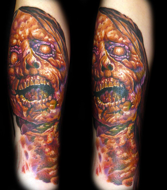 Las-vegas-tattoo-artist_joe-riley_color-zombie-tattoos