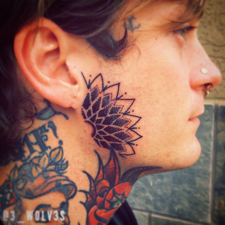 face tattoo 23