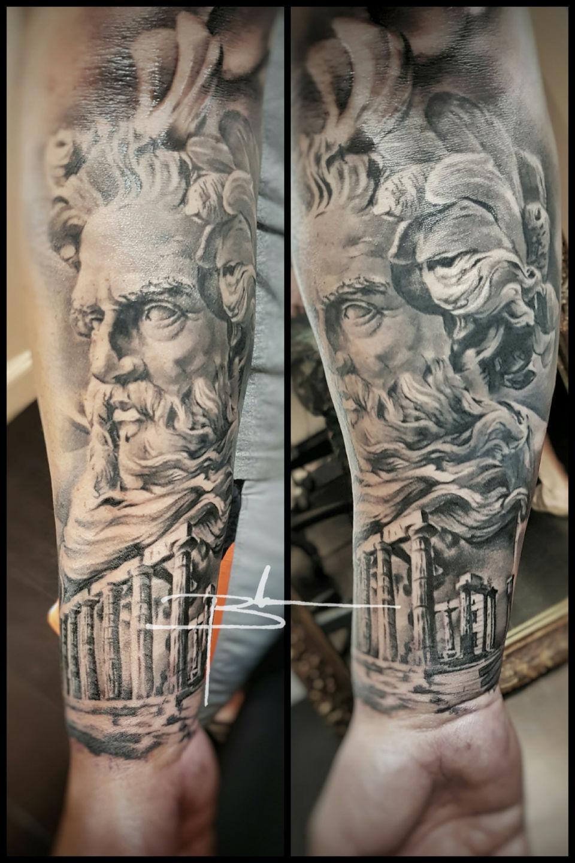 Brandonevans Poseidonneptune And Temple Poseidon Poseidon