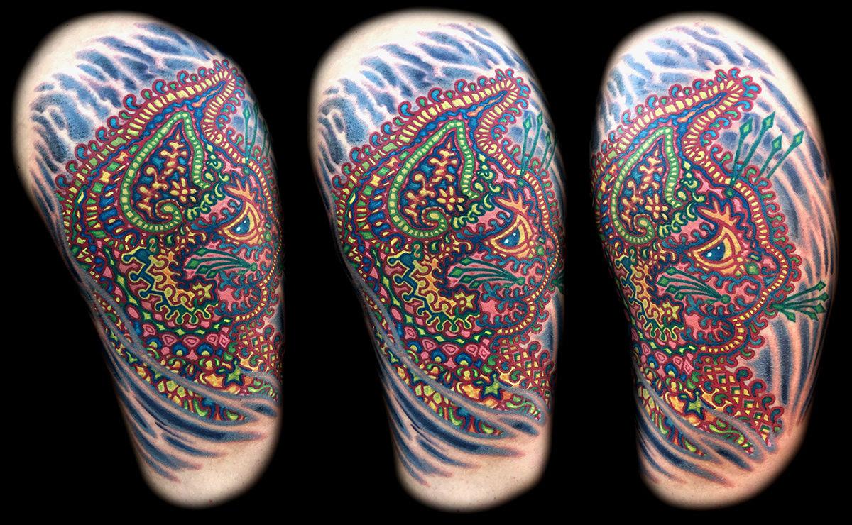 Crazy-cat-tattoo-color-best-tattoo-artist-las-vegas-henderson-joe-riley