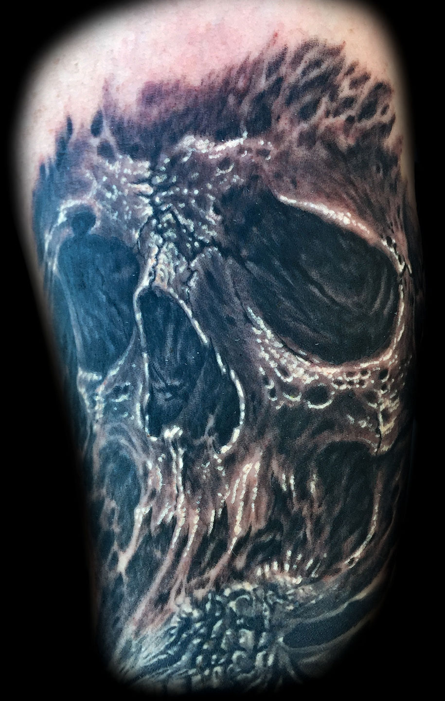 Best-las-vegas-tattoo-artists-shops-joe-riley-inner-visions-tattoo-skull