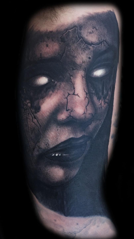 Best-las-vegas-tattoo-artists-shops-joe-riley-inner-visions-tattoo-evil-demon-zombie-tattoos