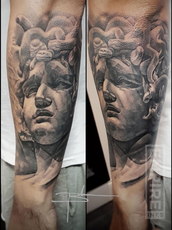 Greek Medusa Tattoo Sleeve Best Tattoo Ideas