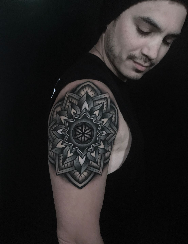 C Mandala Tattoo Cover Up Mandala Tattoo Arm Tattoo Cool Tattoo Geometric Tattoo