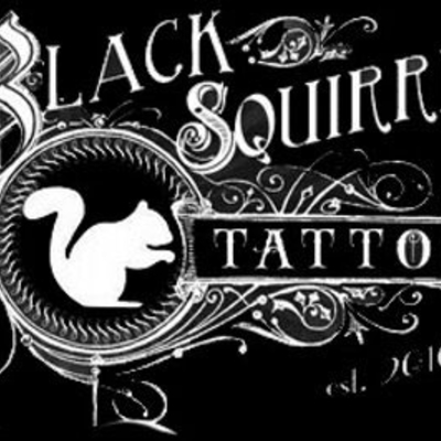 Black Squirrel Tattoo • Iowa