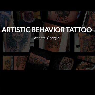 Artistic Behavior Tattoo