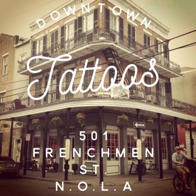 Downtown Tattoos Tattoo Studio In New Orleans La